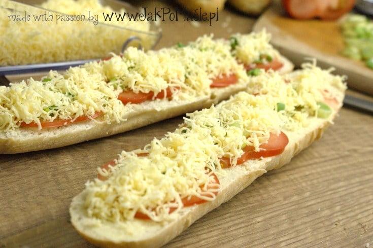 zapiekanka z serem