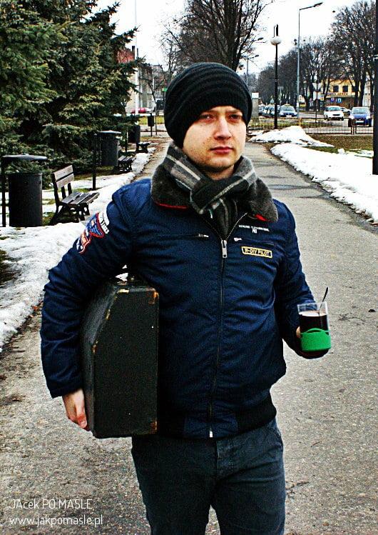 bloger z kawą