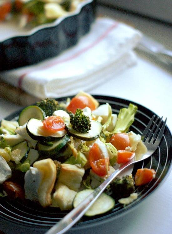 tarta warzywna