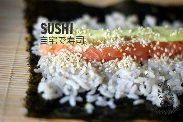 sushi przepis