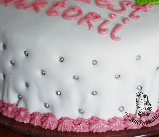 masa cukrowa na tort przepis