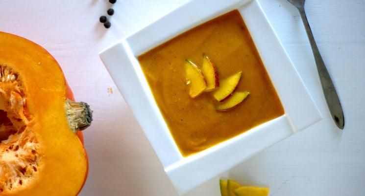 Dyniowa zupa krem na Halloween