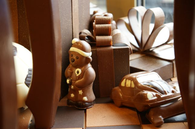 czekoladowa witryna