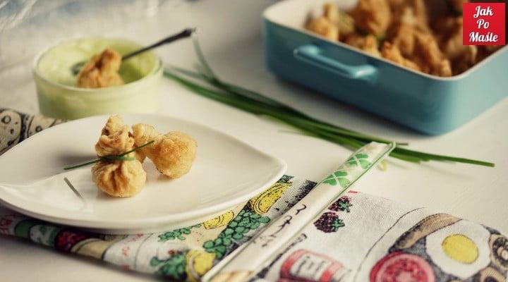 majonez wasabi pierożki wonton 4