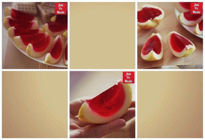 jabłkowe galaretki