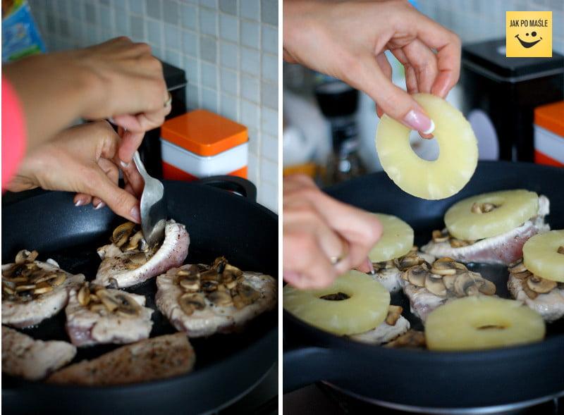 steki z indyka z ananasem
