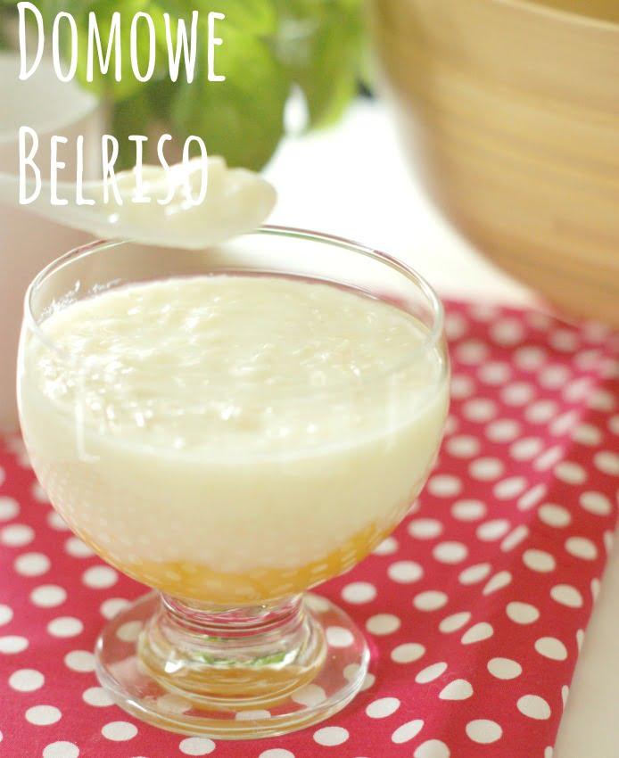 mleczny deser domowe belriso