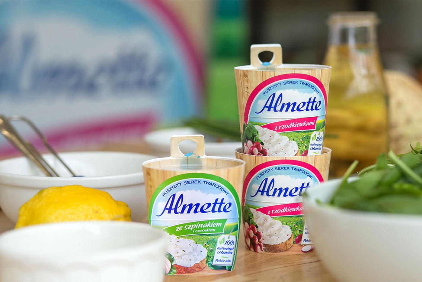 serki kanapkowe Almette