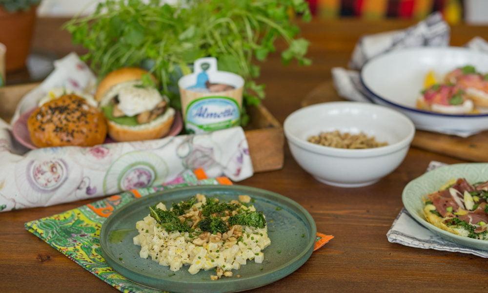 4 wiosenne przepisy na zdrowe i pożywne dania z Almette