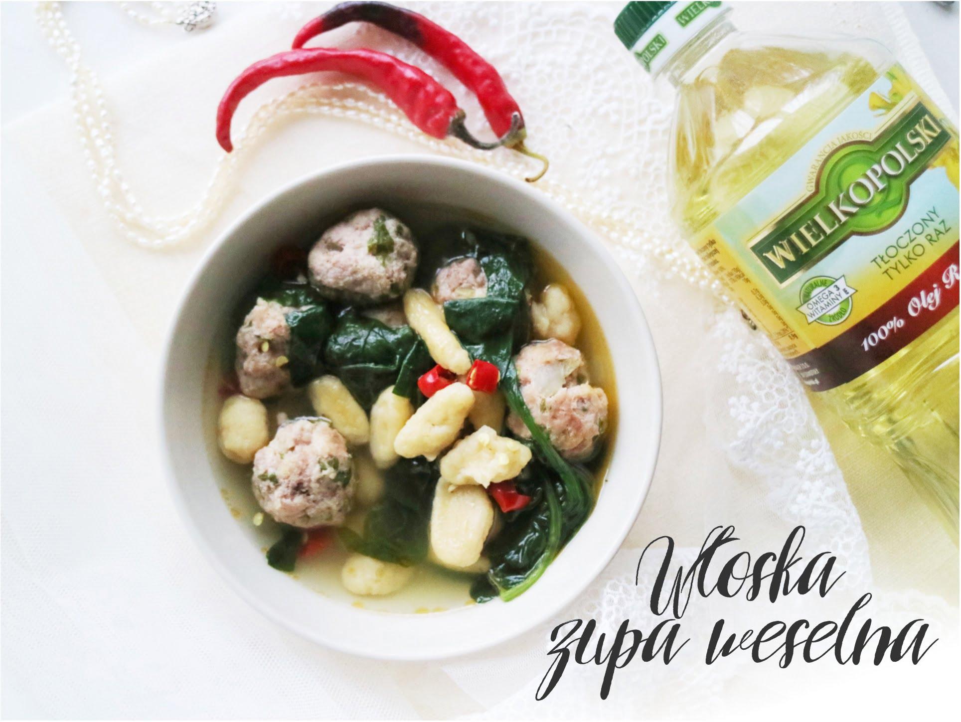 włoska zupa weselna minestra maritata