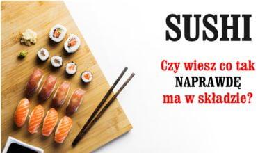 Czy sushi jest zdrowe? Korzyści czy ryzyko dla zdrowia?