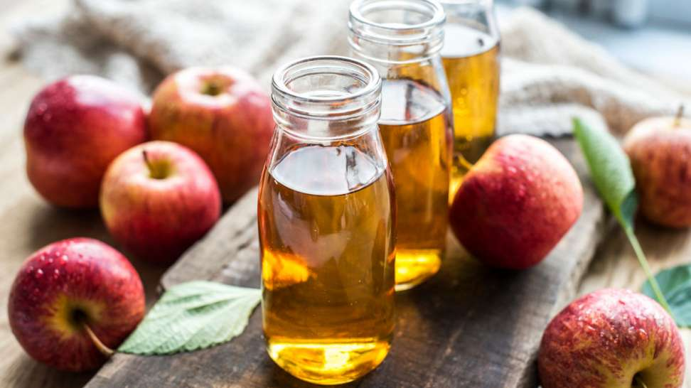 Przepis jak zrobić ocet jabłkowy z miodem