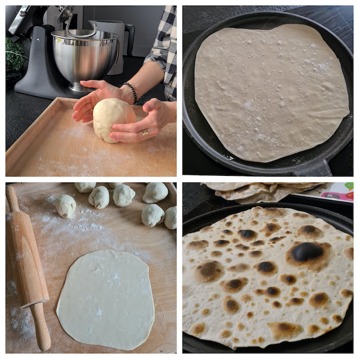 pszenny placek tortilla