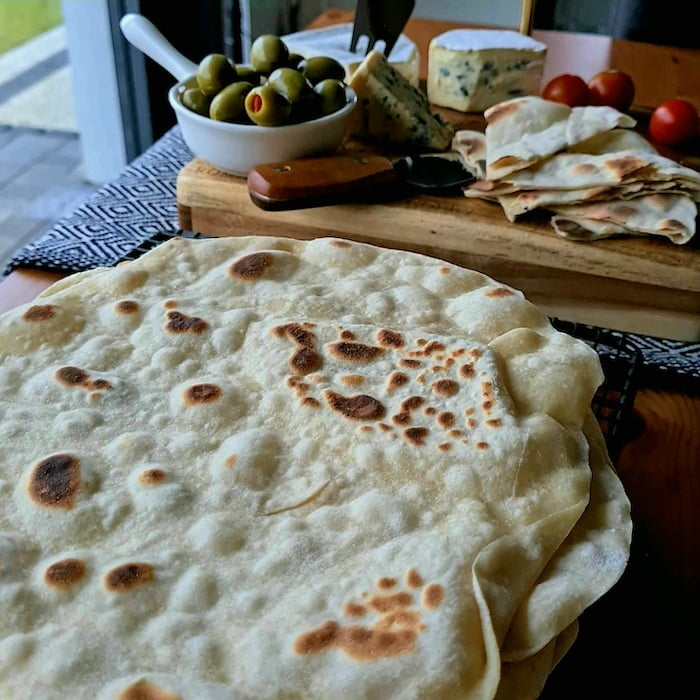pszenne placki tortilla